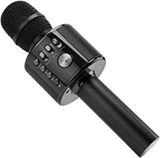 Ankuka Bluetooth Karaoke Microphone, 3 in 1 Multi-Function Handheld Wireless Karaoke..