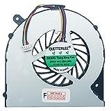 (4-PIN) Lüfter Kühler Fan Cooler kompatibel für Toshiba Satellite C855-1DCJ, C855-1UX, C855-2CP, C855D-162, C855-1DD, C855-1V3, C855-2CQ, C855D-164, C855-1DE, C855-1V6, C855-2CU, C855D-165