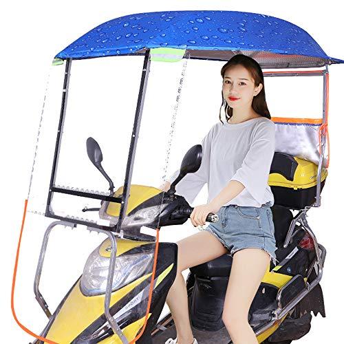 AFAGC Motor-regenhoes, universele parasol, voor elektrische motorfiets, waterdicht, met versterkte step