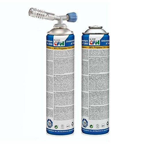 CFH Set Lötbrenner und Universaldruckdose zum Löten Lötset Abflammen