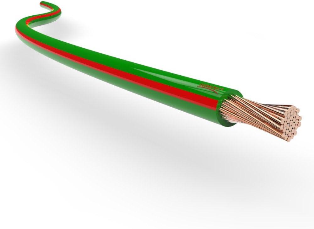 Cavo elettrico unipolare 1.0 mm/² Filo elettrico per auto moto autocarro 5m o 10m selezione: 10m metri 1.0 mm/² filo di rame, nero