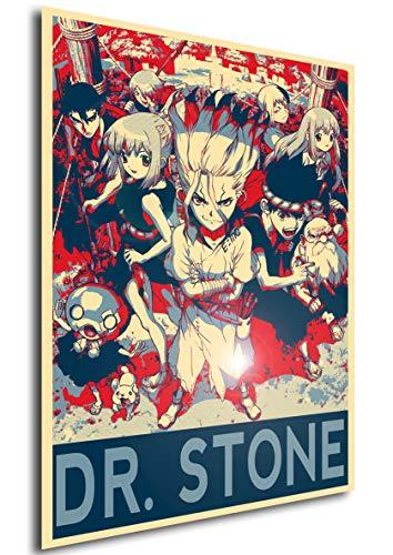 Instabuy Poster - Propaganda - Dr Stone - Characters Manifesto 70x50