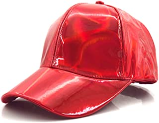 Fashion Hip-Hop Hat for Rainbow Color Changing Hat Cap Back to The Future Baseball Cap