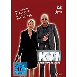 DVD-Cover von K11 - Kommissare im Einsatz mit Sewarion Kirkitadse
