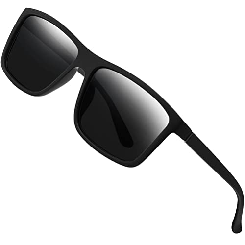 2f3e13803ca Polarized Sunglasses for Men Driving Mens Sunglasses Rectangular Vintage  Sun Glasses For Men Women