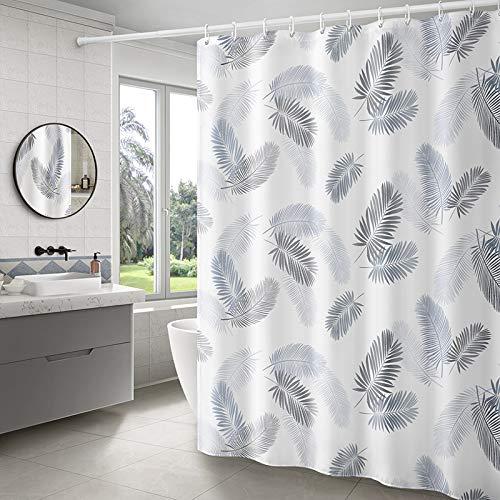 beidexiaowu Nordic Ins Baño Ducha Cortina Baño Baño Partición Impermeable Tela Inodoro Blindaje IKEA Ducha Cortina Juego de Barras (Gancho de envío) 240 Ancho * 200 Altura
