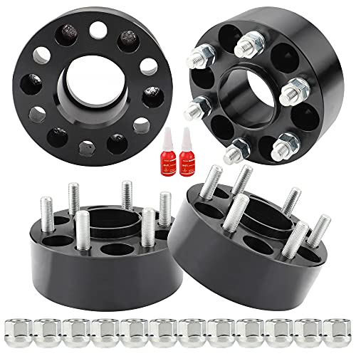Richeer 6x4.5 Hub Centric Wheel Spacers Compatible with 2005-2021 Frontier 2005-2012 Pathfinder...
