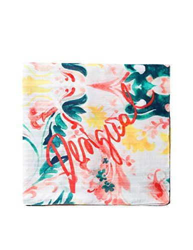 Desigual Foulard_Born Echarpe, Orange (Sunset 7026), Unique (Taille Fabricant: U) Femme