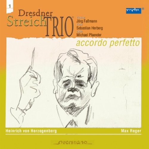 Max Reger; Streichtrio op. 77 b - Vivace