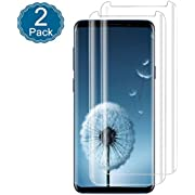 For Galaxy S9 Screen Protector [Clear 2Pack]