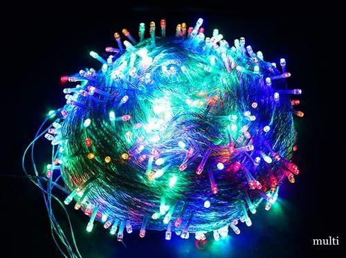 Lichtketting voor binnen en buiten, slinger, 220 V, 30 m, waterdichte LED-verlichting, bruiloftsfeest, creatieve verlichting, meerdere kleuren
