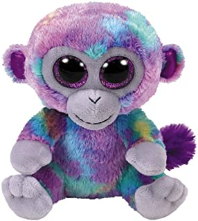 Ty Beanie Boos Zuri - Monkey Multi-Colored med