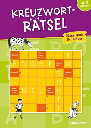 Kreuzworträtsel ab 8 Jahren (Grün): Spielen und Beschäftigen (Rätsel, Spaß, Spiele)
