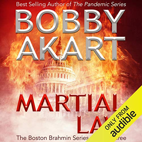 Martial Law audiobook cover art