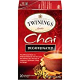 Twinings of London Decaffeinated Chai Tea K-Cups for Keurig, 24 Count (Pack of 1)