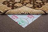 FrithRugs Foxi Anti Slip, 274 x 183cm Rug Size Anti Creep Rug Underlay. For Carpeted Floors