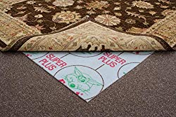 Synthetic Material 2mm thickness Stops rugs creeping on fitted carpet and hard floors Available in a range of sizes Choose your RUG size from the list above.