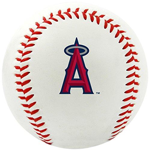 Rawlings MLB Los Angeles Angels of Anaheim Team Logo Baseball, Official, White