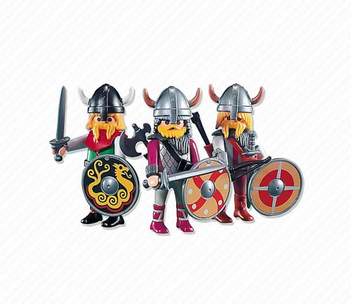 Playmobil 7677 3 Brave Vikings