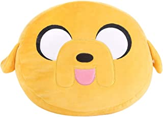 MINISO Adventure Time Cartoon Back Cushion, Home Decor, Jake, Yellow