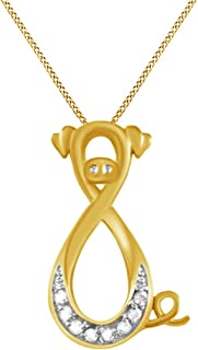 Best diamond pig necklace Reviews