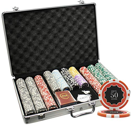 Buy Bargain MRC 650pcs Eclipse Poker Chips Set with Aluminum Case Custom Build