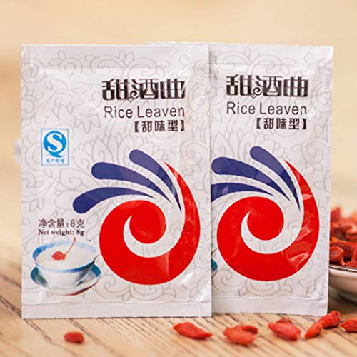 chuwa 5 Packs Chinese Sweet Rice Wine Fermentation Starter Leaven Powder Making Home