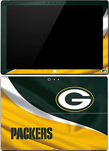Skinit Decal Tablet Skin Compatible with Surface Pro 4 - Officially Licensed NFL Green Bay Packers Design