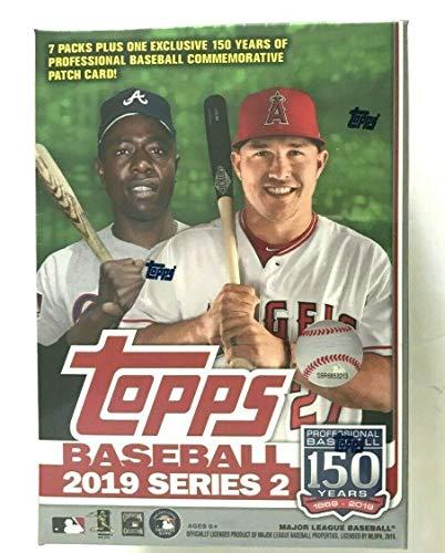Topps 2019 Series 2 MLB Baseball Relic Box Chrome Football Retail Box