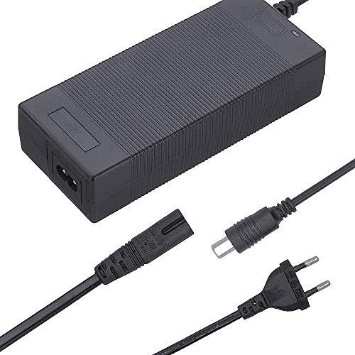 SHM-F Cargador de batería de 42V 1.5A, Scooter Cargador Adaptador de Fuente...