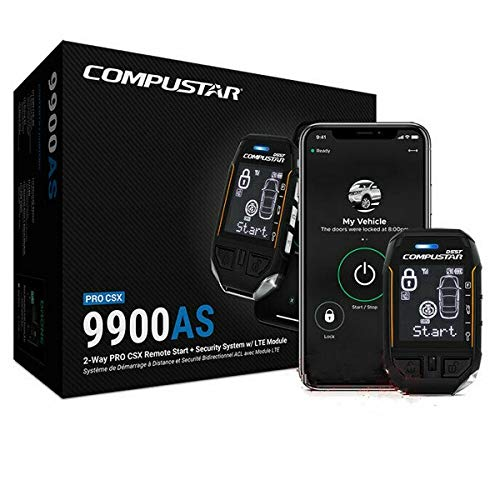 Compustar Pro CSXP9900 AS All-in-One 2-Way Remote Start Security LTE RFX-P2WT12