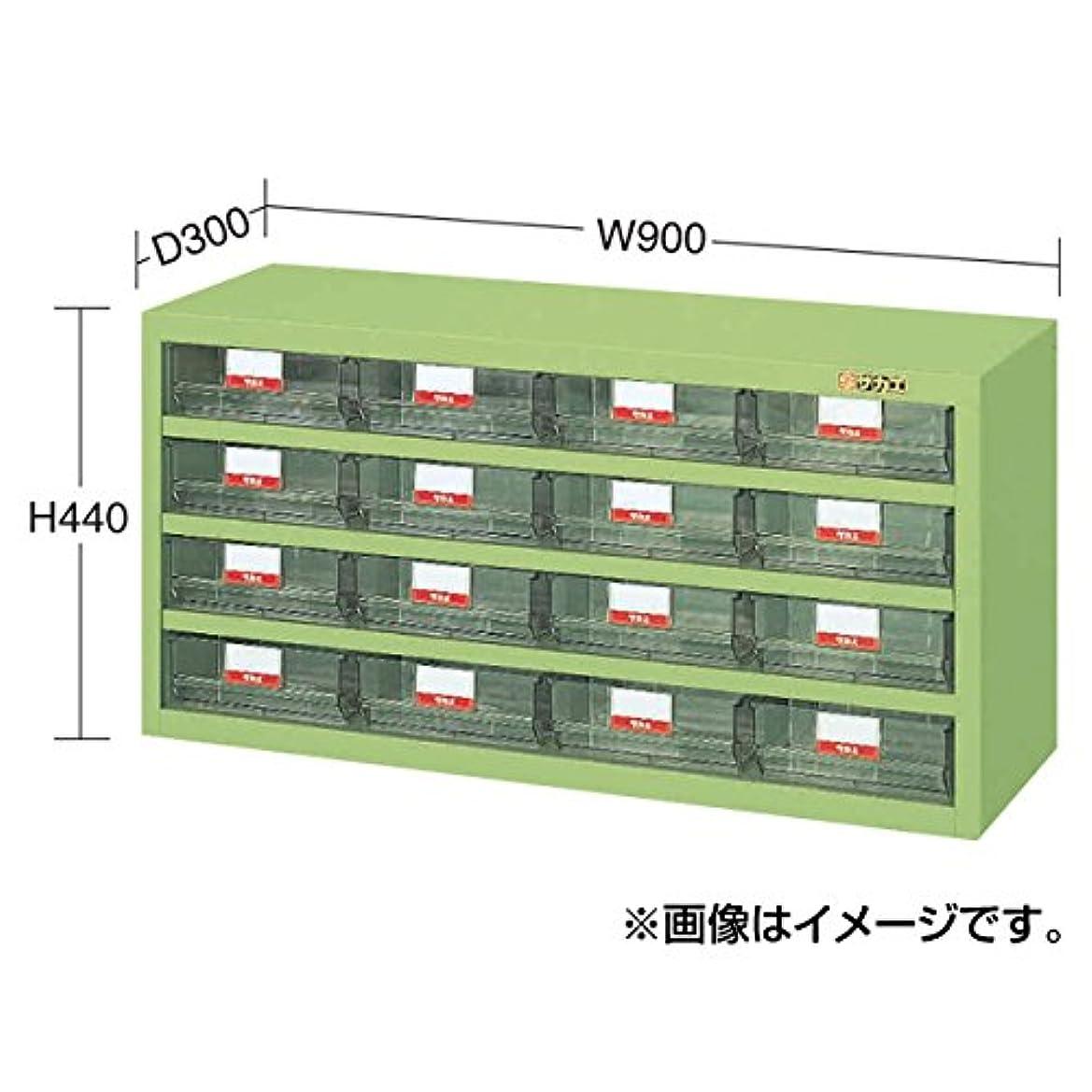 逆ルール再開SAKAE ハニーケース 樹脂ボックス 大16 900×300×440 アイボリー HFW-16TI