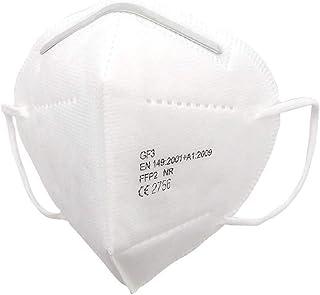 EPI GF3-masker - Persoonlijke beschermingsmaskers FFP2 NR 95% effectief, meerlagige filtratie, 4 laags, één maat, Verpakki...