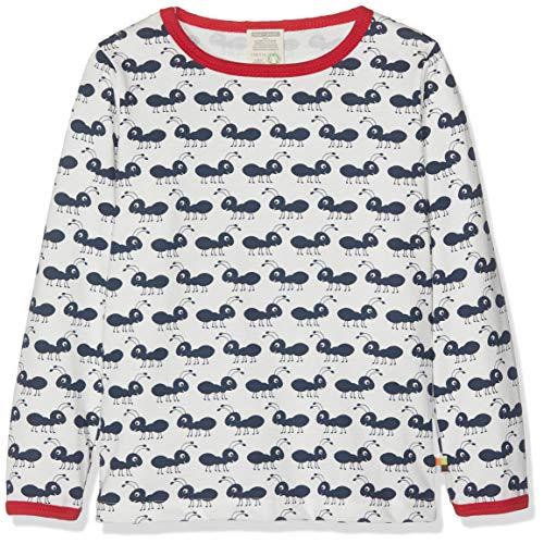 loud + proud Baby-Unisex Langarm aus Bio Baumwolle, GOTS Zertifiziert T-Shirt, Blau (Navy Ny), (Herstellergröße: 110/116)