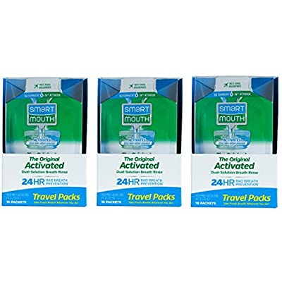 SmartMouth Mouthwash Travel Packets