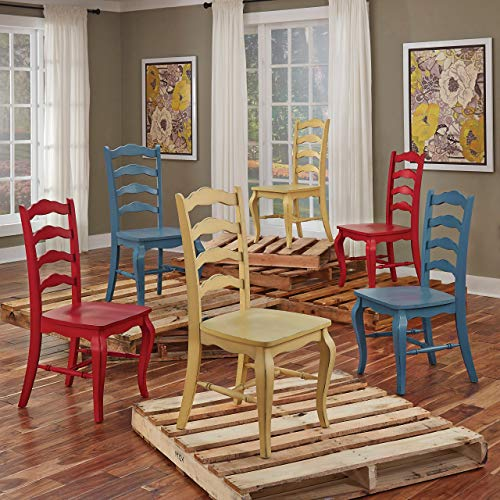 Home Styles Belle Dining Chairs, Red