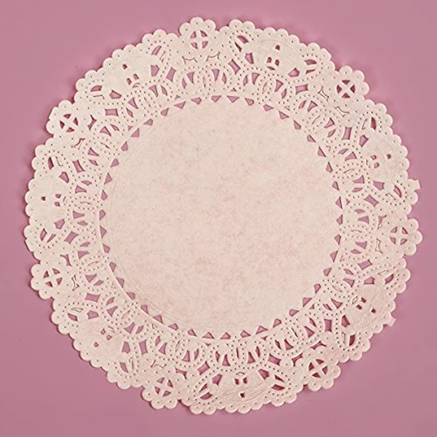 PEPPERLONELY Brand 100PC Normandy Lace Paper Doilies 4 Inch