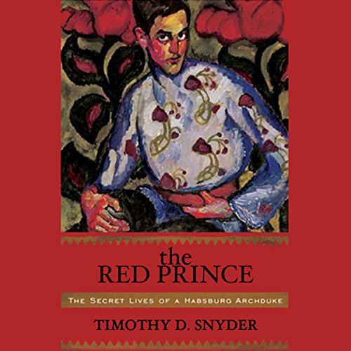 The Red Prince audiobook cover art