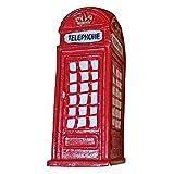 Imán Nevera Caja de Teléfono Roja de Londres - Recuerdo Británico de Inglaterra Reino Unido