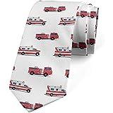 Corbata de hombre, ambulancias de emergencia, corbata de vestir, 8 cm, multicolor