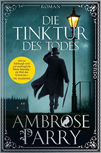 Buchseite und Rezensionen zu 'Die Tinktur des Todes' von Ambrose Parry