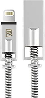 Remax RC-056i USB Cables for I-Phone - Silver