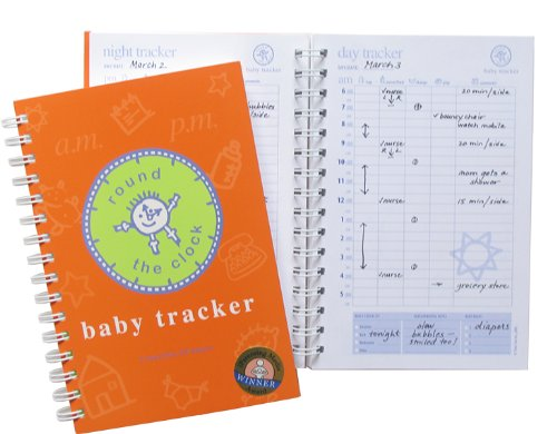 Baby Tracker for Newborns - Round-The-Clock Night and Day Schedule Log Book, 90 Easy to Fill Pages Track Nursing, Feeding, Sleep, Diapers, Todos and More