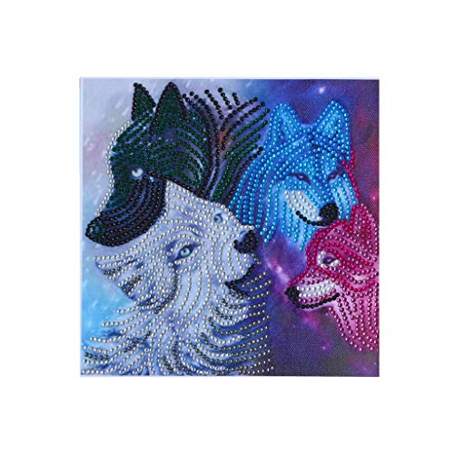 Fasclot Special Shaped Diamond Painting DIY 5D Partial Drill Cross Stitch Kits Crystal R Home & Garden Diamond Painting