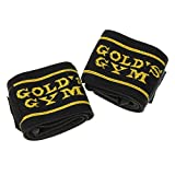 ゴールドジム(GOLD`S GYM) ループ付き リストラップ G3511 【初心者~プロ対応】 手首の補助 鍛えたい部位の集中トレーニング ベンチプレス ショルダープレス チェストプレス 【ゴールドジム正規品 ゴールドジムトレーナー愛用】