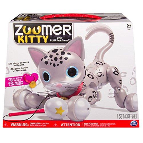 Zoomer Kitty Zooey Snow Leopard Spots