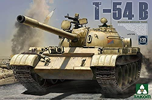 Takom 1 35 Russian Medium Tank T-54 B Late Type No. 2055 by TAKom