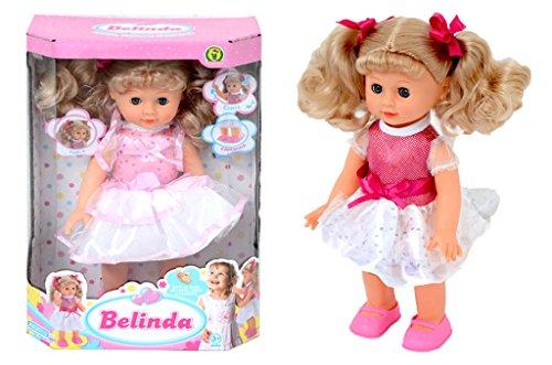 Bambola Belinda Canta, Parla e Cammina - Mazzeo Giocattoli