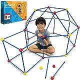 SNAPZ Fort Building Kit for Kids - Build a Fort with The Ultimate Fort Builder Set - Blanket Fort Kit - Indoor Fort Making Kit for Kids