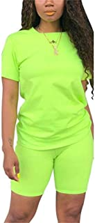 Womens Casual 2 Piece Sports Outfit Set Pullover Top Bodycon Pants Joggers Clubwear Tracksuit Sportswear Set - Green - XX-...